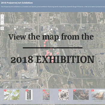 Map background with text View the map from the 2018 exhibition